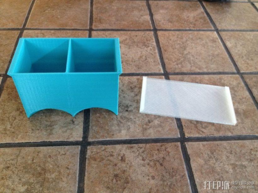 茶包分发器 3D模型  图3