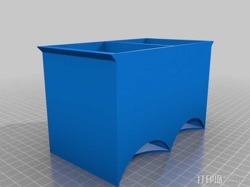 茶包分发器 3D模型  图4
