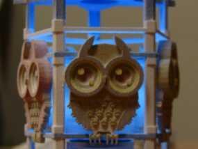 猫头鹰形小夜灯 3D模型