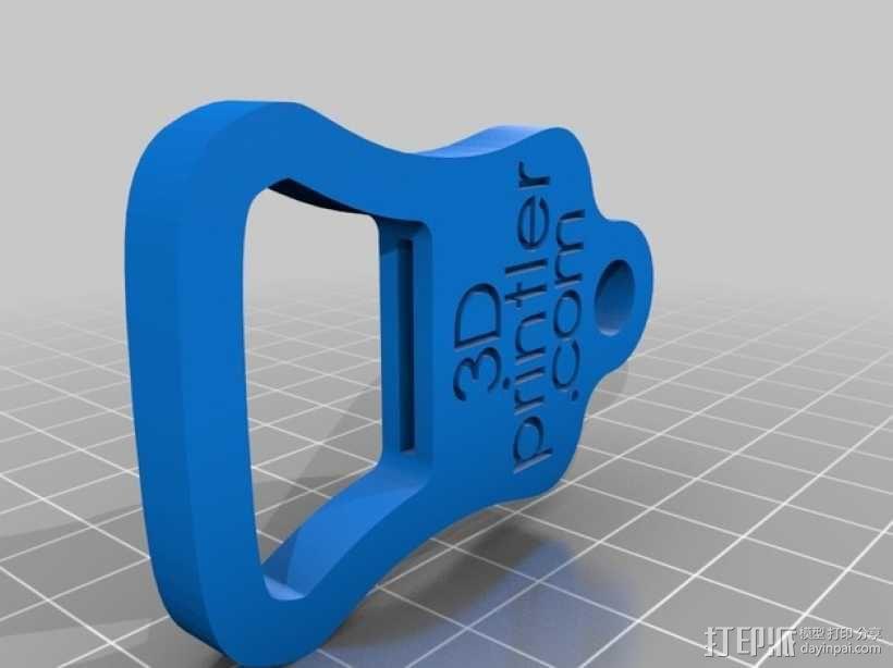 3D打印的开瓶器 3D模型  图2