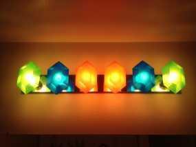 定制化卢比灯罩 3D模型