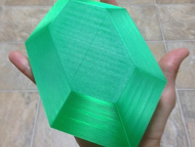 定制化卢比灯罩 3D模型  图3