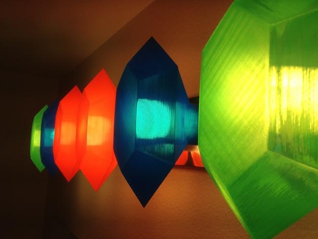 定制化卢比灯罩 3D模型  图8