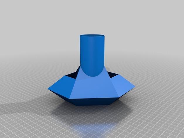 定制化卢比灯罩 3D模型  图6