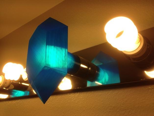 定制化卢比灯罩 3D模型  图7