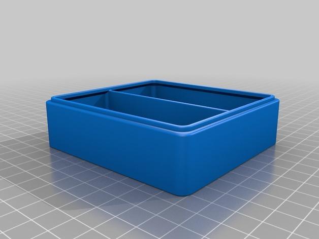 简易塔迪斯抽屉 3D模型  图3