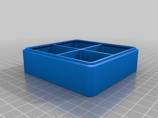 简易塔迪斯抽屉 3D模型  图2