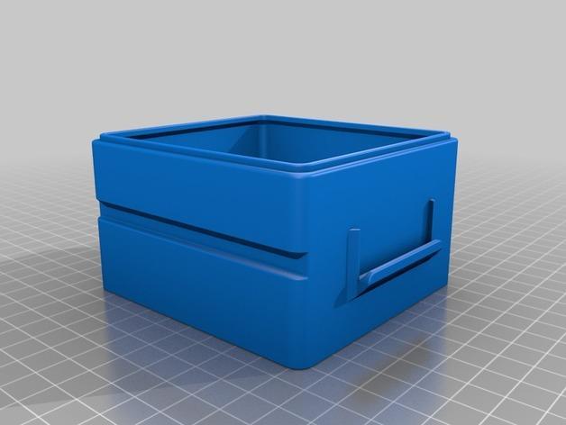 简易塔迪斯抽屉 3D模型  图5
