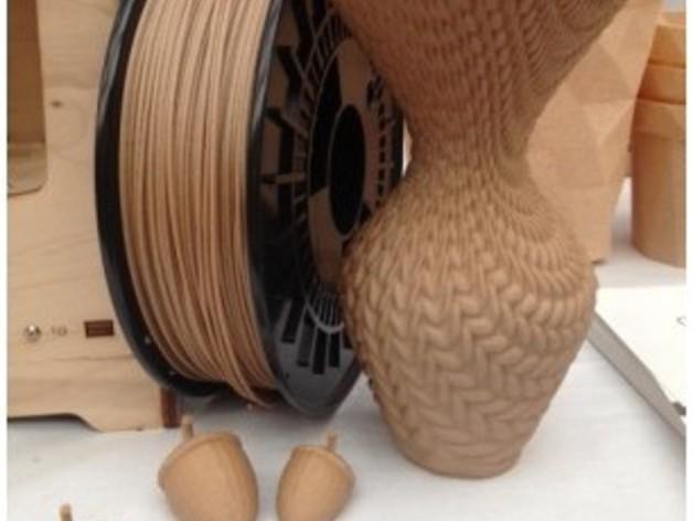 针织形花瓶 3D模型  图2