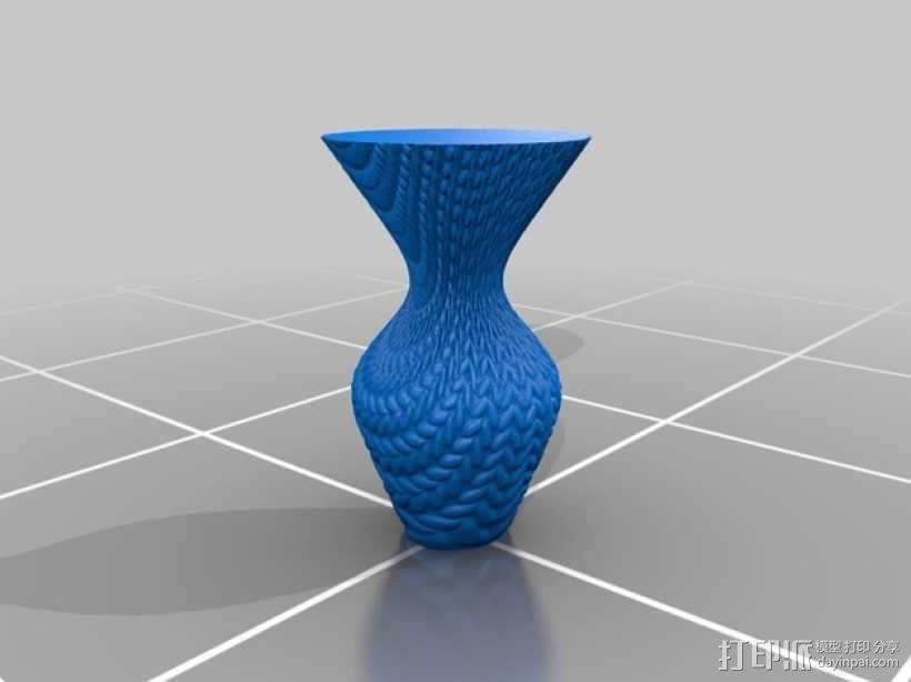 针织形花瓶 3D模型  图5