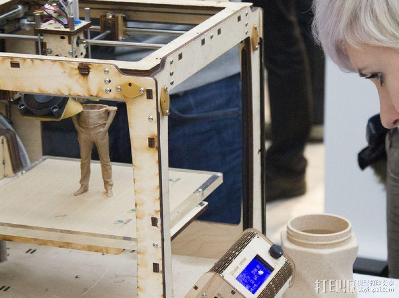 针织形花瓶 3D模型  图4