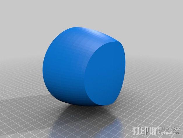 带有角度的茶壶 3D模型  图2