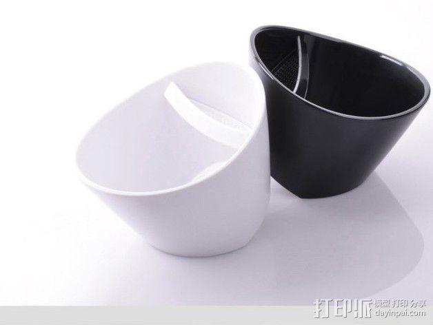 带有角度的茶壶 3D模型  图4