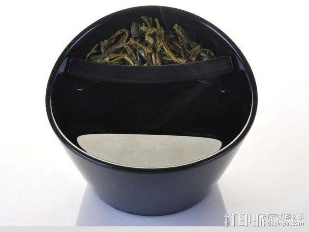 带有角度的茶壶 3D模型  图13