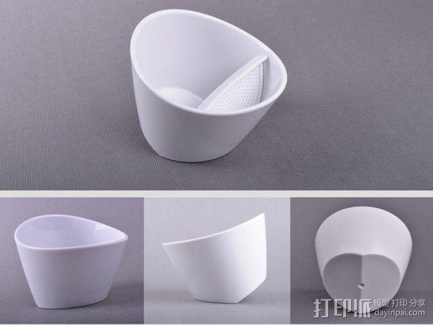 带有角度的茶壶 3D模型  图12