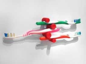 牙刷架 3D模型