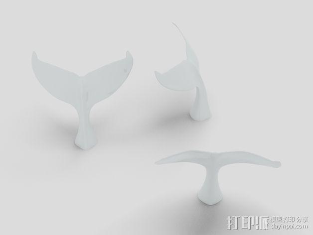 海底动物冰箱磁铁 3D模型  图4