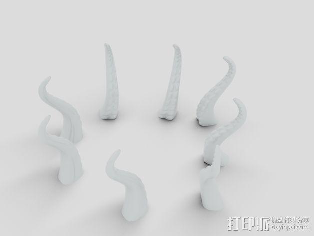 海底动物冰箱磁铁 3D模型  图6