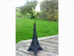 艾菲尔铁塔花瓶 3D模型
