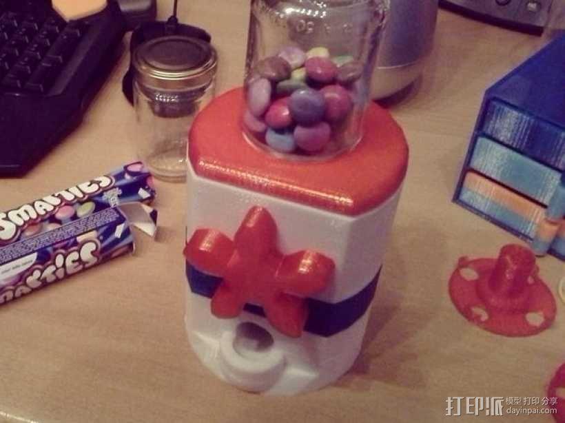 桌面式糖果机 3D模型  图1
