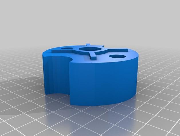 桌面式糖果机 3D模型  图4