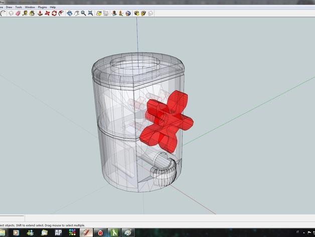 桌面式糖果机 3D模型  图8