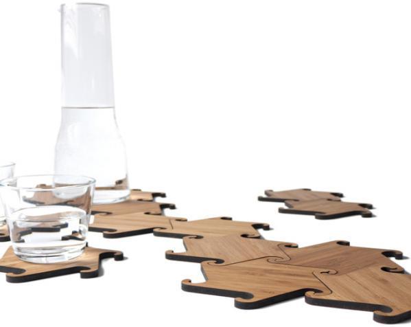 联锁杯垫 3D模型  图5