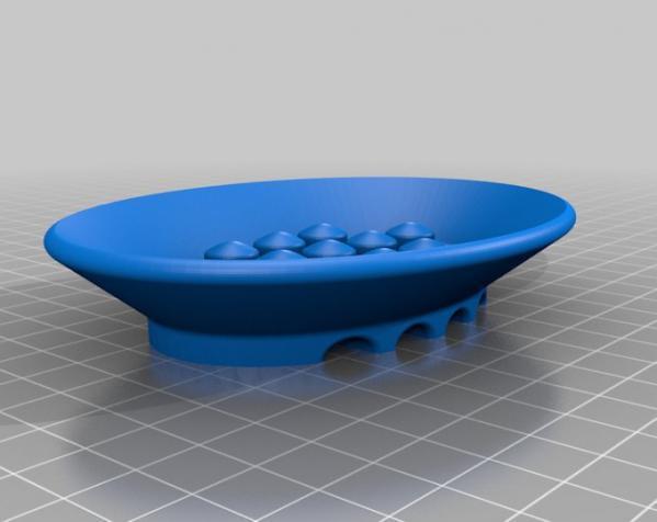 肥皂碟 3D模型  图2