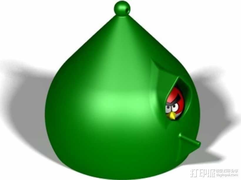 水珠形鸟笼 3D模型  图5