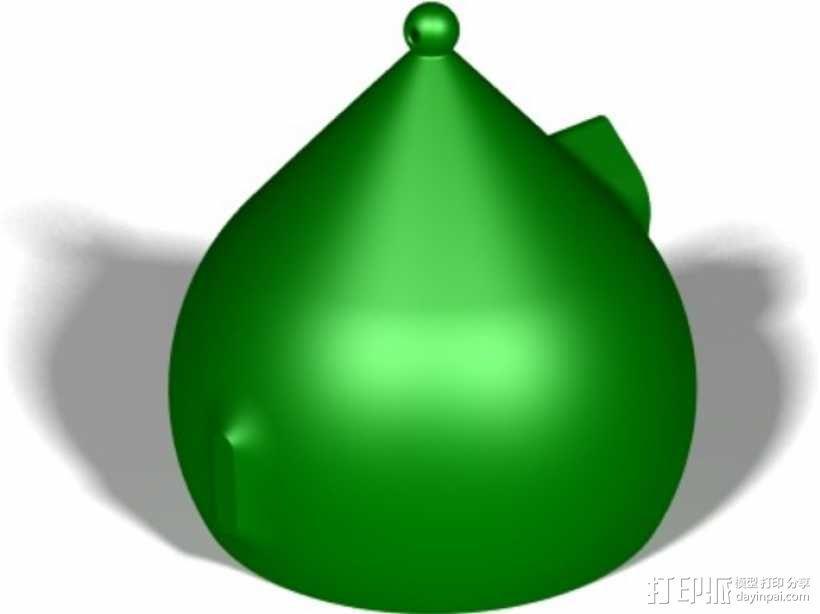 水珠形鸟笼 3D模型  图7