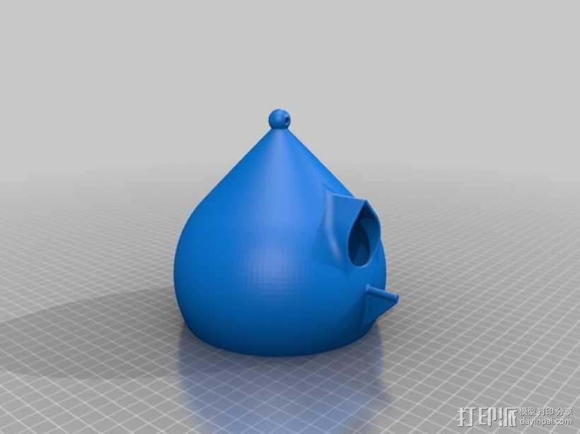 水珠形鸟笼 3D模型  图9