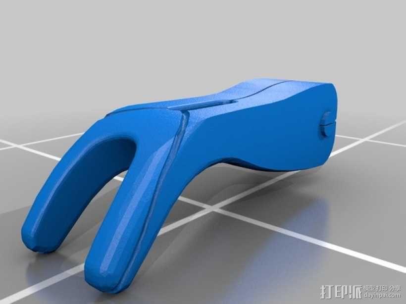 迷你牙线 3D模型  图2