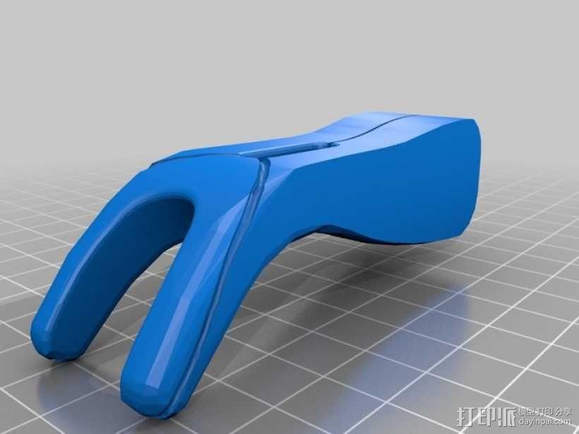 迷你牙线 3D模型  图4