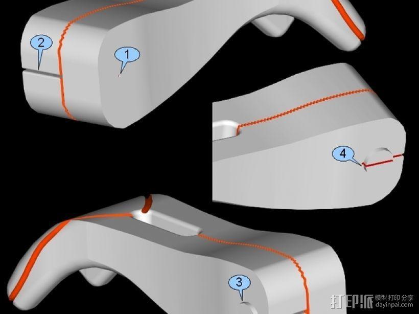 迷你牙线 3D模型  图10