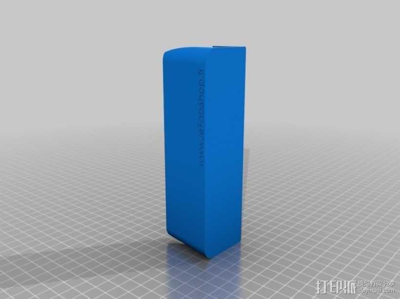 名片盒/传单夹 3D模型  图2