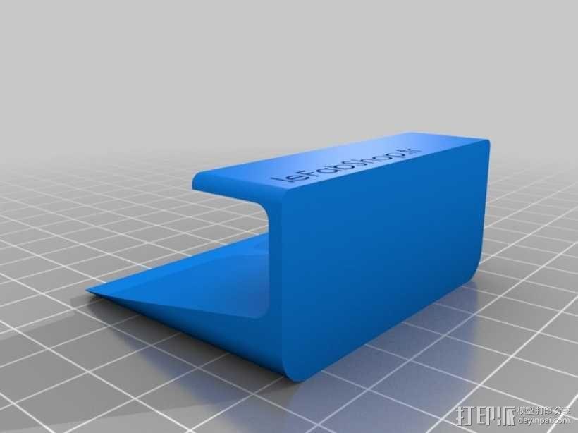 名片盒/传单夹 3D模型  图3