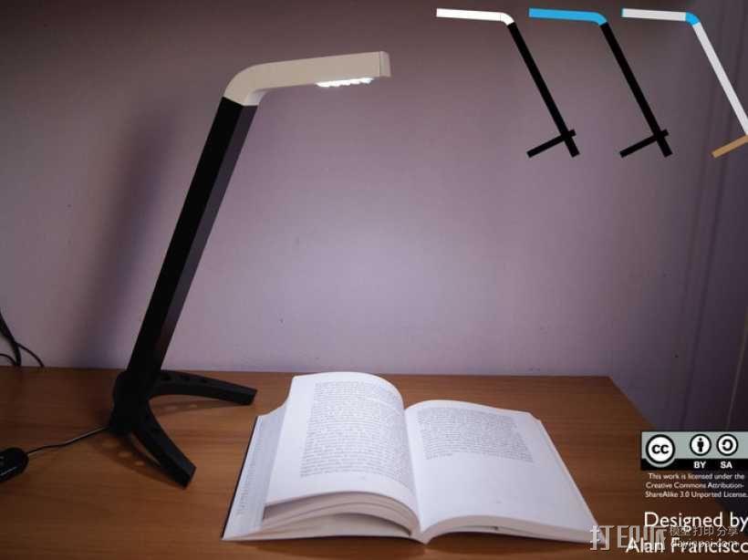 4020 DIY台灯 3D模型  图8