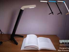 4020 DIY台灯 3D模型