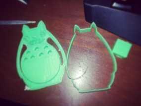 龙猫饼干模具切割刀 3D模型