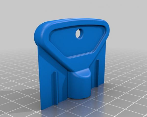室外水龙头钥匙 3D模型  图3