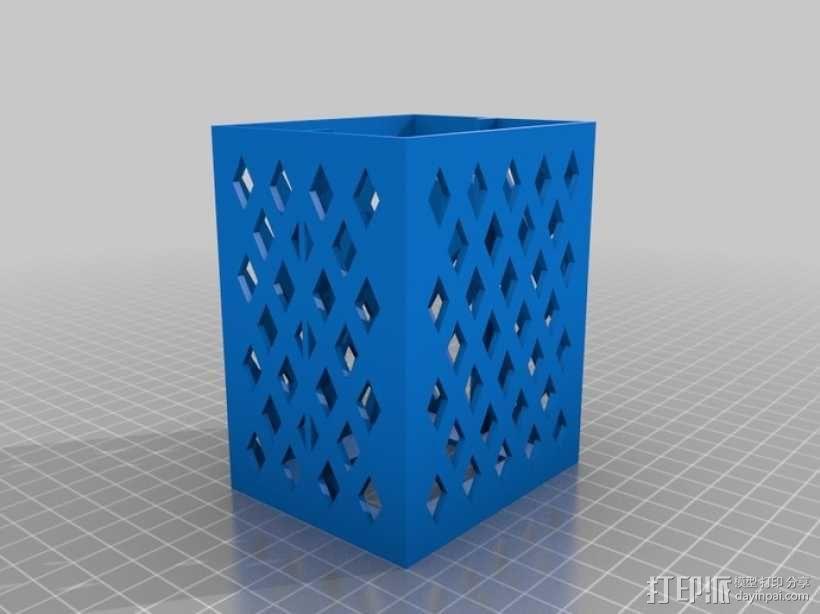 参数化抽屉/储物柜 3D模型  图3