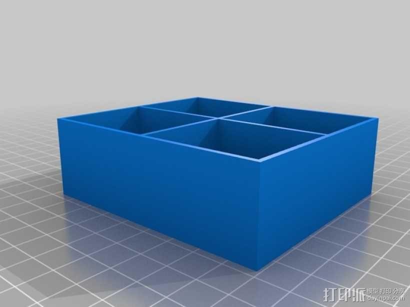 参数化抽屉/储物柜 3D模型  图5