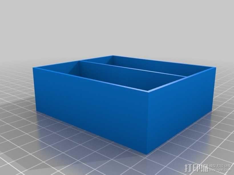 参数化抽屉/储物柜 3D模型  图4