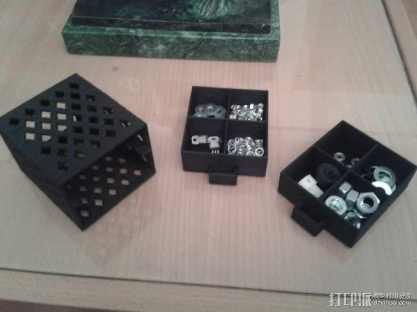 参数化抽屉/储物柜 3D模型  图6