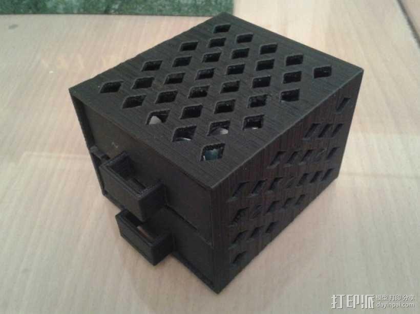 参数化抽屉/储物柜 3D模型  图8