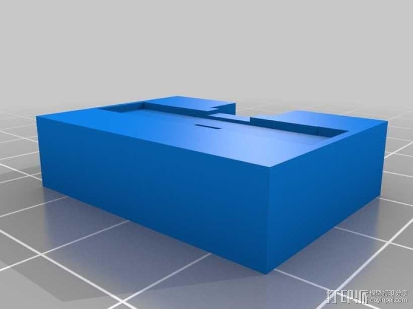 模块一体化LED灯 3D模型  图3