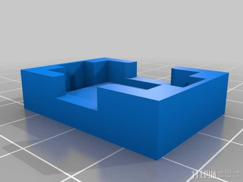 模块一体化LED灯 3D模型  图2