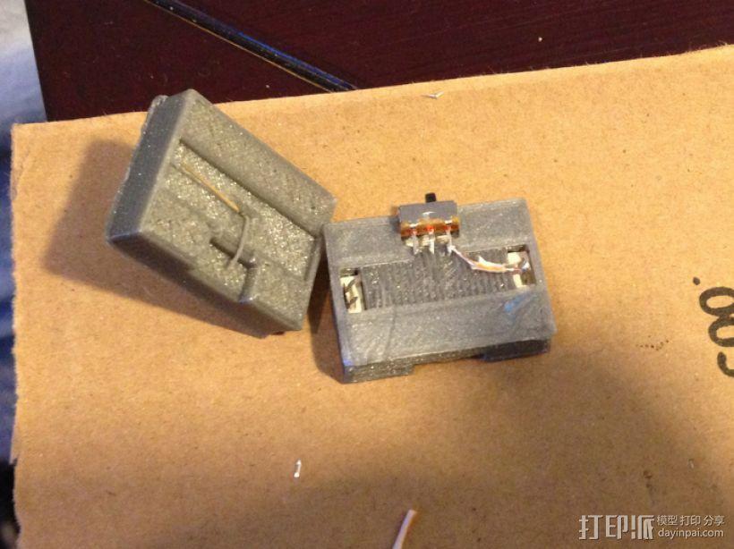 模块一体化LED灯 3D模型  图4