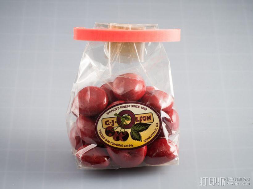 定制化食品袋夹 3D模型  图7