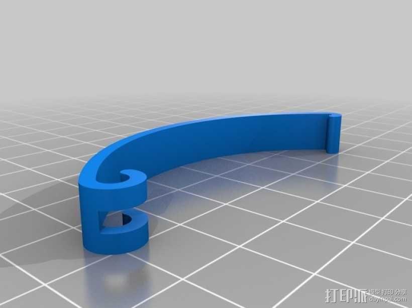 定制化食品袋夹 3D模型  图12